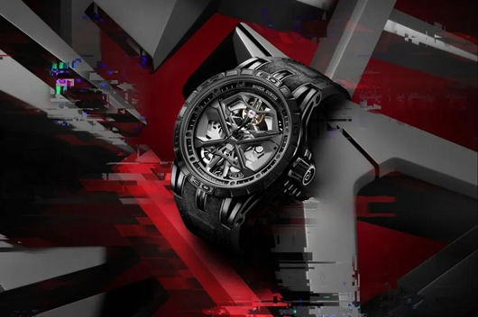 Roger Dubuis All Black replica watch